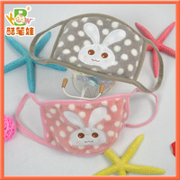 2013 Newest cute rabbit dustproof mask protective facial mask Anit-poison respirator 20pcs/lot  FREE SHIPPING