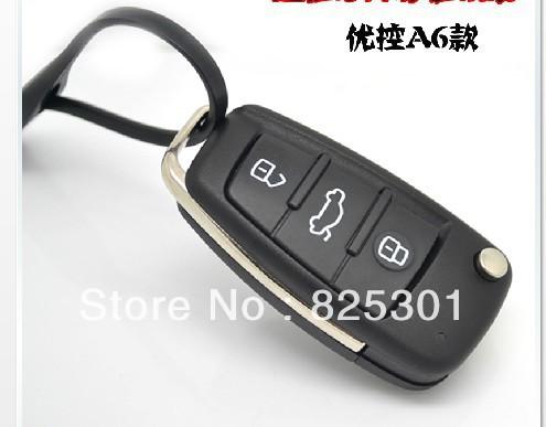 Lifan Car Key Shell Casing, Black Folding Car Case for Lifan 320/520/620(China (Mainland))