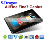 Newest Quad Core tablet pc 7'' Allfine fine7 Genius Android 4.1 OS ATM 7029 1GB/8GB ROM 1.2GHz IPS screen