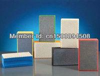 resin bond diamond hand polishing pad for glass , stones grain 3000