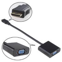 FACTORY PRICE HDMI To VGA Cable, HDMI MALE TO VGA FEMALE ADAPTER, HDMI TO VGA CONVERTER