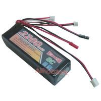 RC 11.1V 2200mAH Lipo Battery For Turnigy 9X 9Ch JR propo Spektrum KO Ridio Transmitter