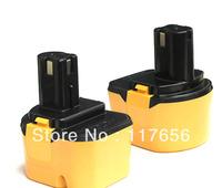 12 Volt 2000mAh Battery for RYOBI 1400652 1400652B 1400670,2-pack