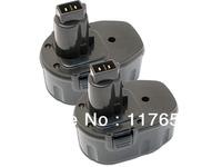 BATTERIS For DEWALT 14.4V Power Tool DC9091 DW9091 DW9094 DE9038 BATTERY, 6-pack