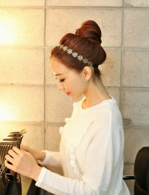 Fashion hair headband Free shipping Hair Accessories very nice hair band best gifs for girls(China (Mainland))