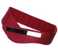 Brief metal piece mirror Cummerbunds, elastic waist fashion  cowhide metalic bottoms for women  wide female belts