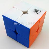 ^_^Free shipping! Dayan 2x2x2 46mm Speed Cube Magic Cube Stickerless