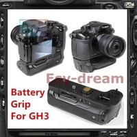 Vertical Battery Power Handle Grip Holder For Panasonic Lumix GH3 GH4 DMC-GH3 as BGGH3 PM160