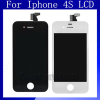 Free Shipping  DHL EMS Original LCD with touch screen digitizer assembly For iphone 4S LCD