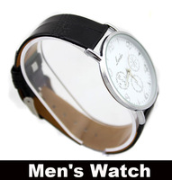 Men's Watch Fashion & Caual Wristwatch for Bunisness Men 2 colors light-minded  Round Quartz good-looking watches for Men's