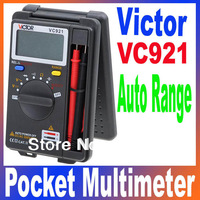 VICTOR VC921 3 3/4 DMM Integrated Personal Handheld Pocket Mini Digital Multimeter Auto Range