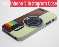 fashion Cool Camera Insta Instagram phone cases Hard Case for iphone 5s 5 MOQ 1pc