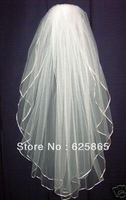 2012 Hot New Charming 2T ivory Wedding Brides Veil