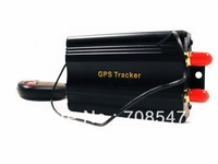 DHL 5pcs/lotcar gps tracker TK103B  vehicle  GPRS/GPS  tracker Supports the remote control car gps tracking Wholesale
