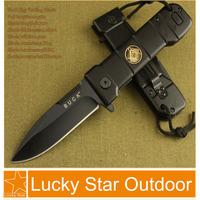 Buck knives Pocket Tactical combat Folding Knife B35 Hunting Knife Hardened 56HRC 5Cr13 handle frame free shipping good knife