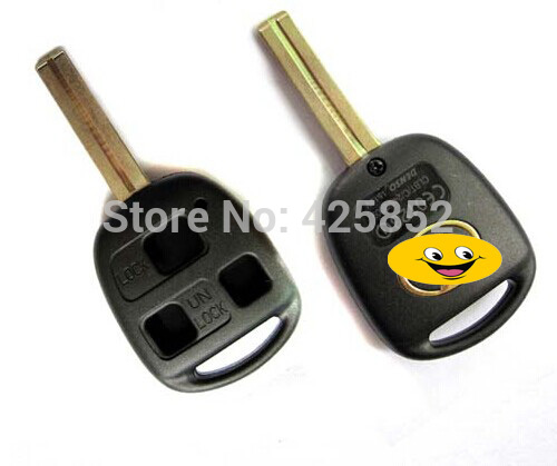 Special Offer  Lexus Remote Key Shell 3 button TOY48 (Short) Blade Lexus Key Cover Blanks (China (Mainland))