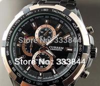 2013 Hot Sell Luxury Analog fashion TRENDY Sport Men's Watch MILITARY STYLE WRIST WATCH for Men quartz watches Gift watch W23