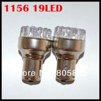 10PCS/LOT 1156 19led Car led lamp BA15S 19LEDS 19 Leds light Turn signal bulbs ,Factory wholesales!!!!!