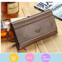 New Korean style man hand caught cross paragraph lattice hand bag fashion business men's bags recreation bag