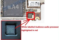 3pcs/lot Audience 10C0 Audio Switch Voice Processor nose cancelation ic/chip for iPhone 4