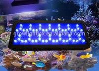 Freeshiping 2 switches High Par aquarium  300w=98x3w aquarium led lighting coral grow fish tank ,3 years warranty dropshipping