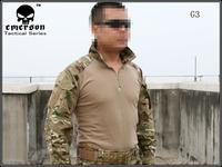 Emerson Tactical G3 Combat shirt Emerson BDU Military Army airsoft Tshirt MULTICAM EM8567