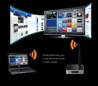 A1W DLNA wirless audio bridge Video AV Transmitter Sender Receiver TV box HD media player wireless signal transceiver