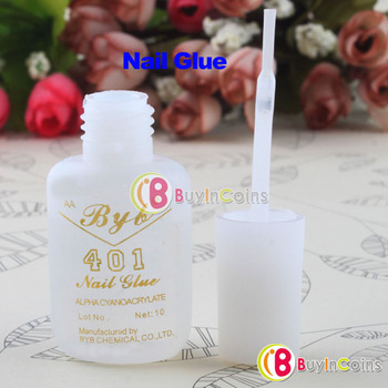 10g Long Last Practical Useful 401 Nail Art Salon Glue Brush Decor Tip Acrylic[11609|01|01]