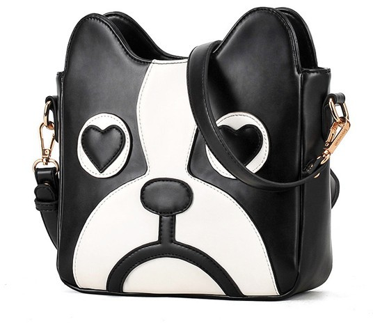 The influx of women in Europe and America retro Japan and South Korea cute puppy cute three-dimensional bag hit the color(China (Mainland))