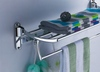 stainless steel bathroom towel rack copper accessories(China (Mainland))