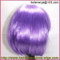 Fashion Bob Style Ladies Short Straight party wigs Fancy Dress Wig purple lot