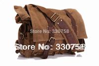 Classic Legend Travel Canvas Messenger Bags Men Vintage Casual Latop Handbag Retro Genuine Leather Hasp High Quality 2 Colors