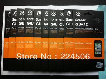 10pcs/lotCrystal Clear Flim Guard LCD Screen Protector For Samsung Galaxy Note 2 II N7100  Free Shipping