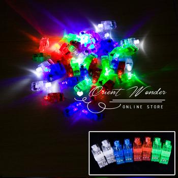 1000pcs/lot DHL Freeshipping,LED Finger Light wedding party celebration Toys Halloween Light Cristmas Festival toy