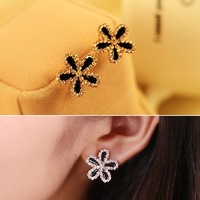 Серьги висячие Fashion Jewelry Vintage Colorful Triangle Shaped Drop Earring Hollow Alloy Earrings ES0114