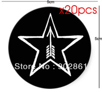 [funlife]-20pcs/set 5cm Tula Star Sticker Tulskaya FUNLIFE Exclusive for Russia Free Ship for Greeting Card/Envelop