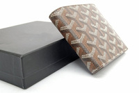 Real leather Wallet Short size Mens wallet / 12.5CM Square Designer Wallet With Dust bag & Carton Box Packing (SP0493)