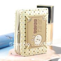 Cartoon wallet girls small wallet women's sweet short design wallet rabbit Purse handbags