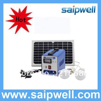 2013 HOT Sale cheap small solar generator, portable solar generator (Excluding battery)