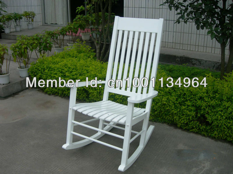 Indoor/Outdoor Mission Slat Rocking Chair(China (Mainland))