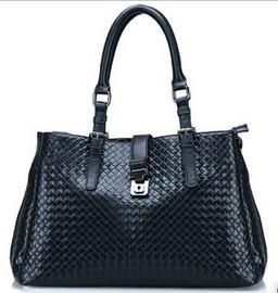 Emboss Woven Star bag Genuine Leather Handbag Women messenger bags handbags women famous brands totes shoulder handbag 2014