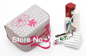 Fashion Lightweight Travel Toiletry bag Cosmetic Make Up Storage Purse Zipper Organizer Proof Bag Free Shipping