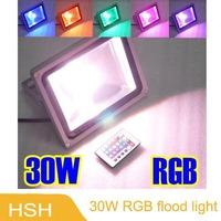 High Power IP65 Waterproof 30W LED Flood Light RGB Outdoor Lamp Retail & Wholesale  3years Warranty
