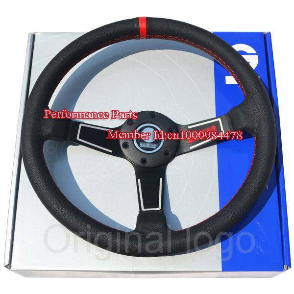 Sparco Racing Wheels Sparco Steering Wheel Red