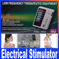 HBL-502 Low Frequency Therapeutic Equipment Massage Electrical Stimulator Therapy Body Massager