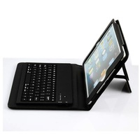 Luxury Leather Auto Sleep Case Cover Wireless Bluetooth Keyboard for iPad Mini Free Shipping