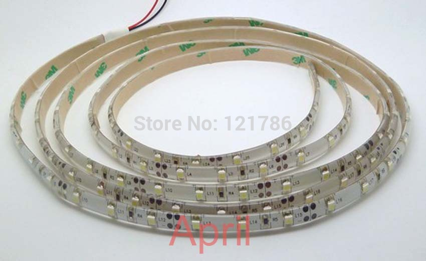 Free ship 5m 300 LED 3528 SMD 12V flexible light 60 led/m, NON-WATER PROOF LED str