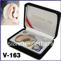 AXON Convenient Hearing Aid Aids Sound Amplifier Ear Voice Receiver V-163 Free Shipping