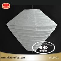 wholesale(10pcs/lot)  unique home decoration hanging ceiling  white paper lamp shade