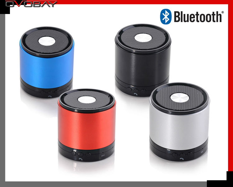 Bluetooth stereo wireless bluetooth speaker with call feature stylish portable gift to share(China (Mainland))
